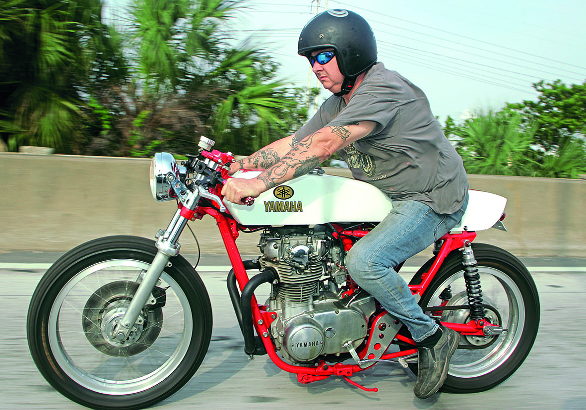 Yamaha XS650 in Back Street Heroes
