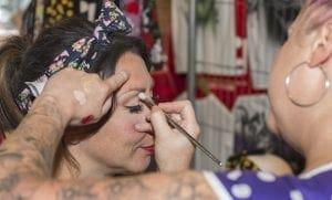 Natalie Flewitt makeup