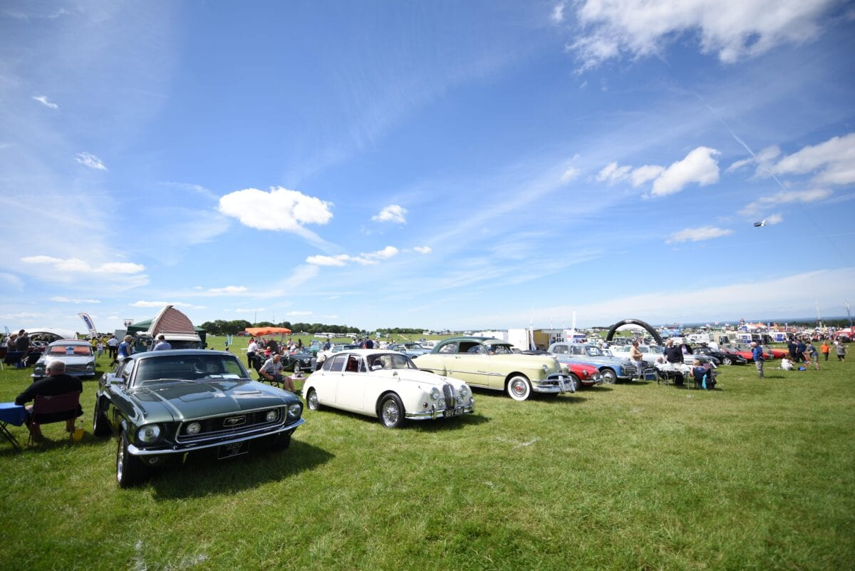 FIRST-EVER EPSOM CLASSIC CAR RALLY HAILED A SUCCESS BY SUN-SOAKED ...