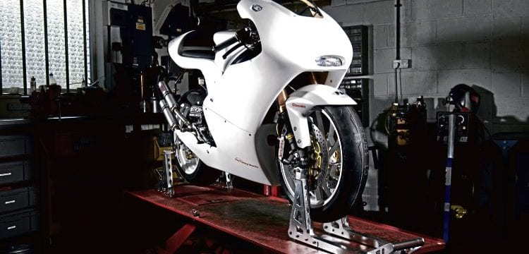 Reader's Special RGV250 Tony Carter's project bike.