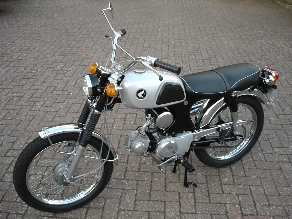 show us yours: lawrence murphy's 1967 honda cl90 – classic ... 1967 honda cl90 motorcycle wiring #11