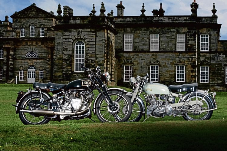 A Vincent Flash replica and A Vincent Rapide