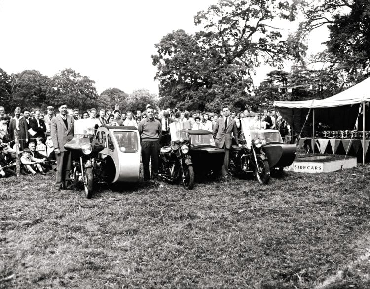 Watsonian Sidecar Rally, Beaulieu Abbey, August 1959