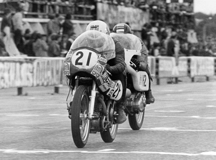 After discussions with Jim, Mick thought the best way to make it to the top would be to ride more standard races.