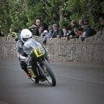 Irish 500cc Classic Champion Ed Manly.