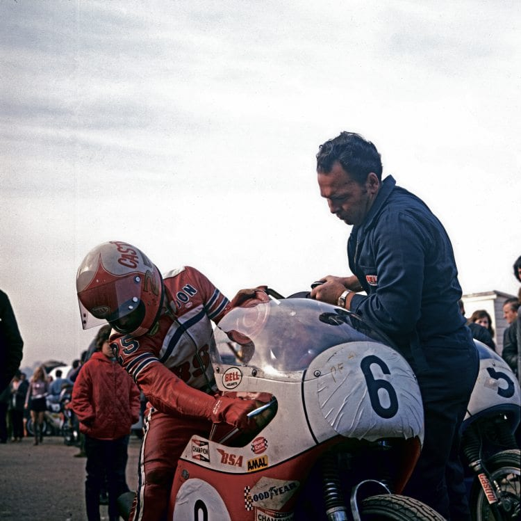 Transatlantic trophy teamster, Don Emde, gets a top up of fuel.