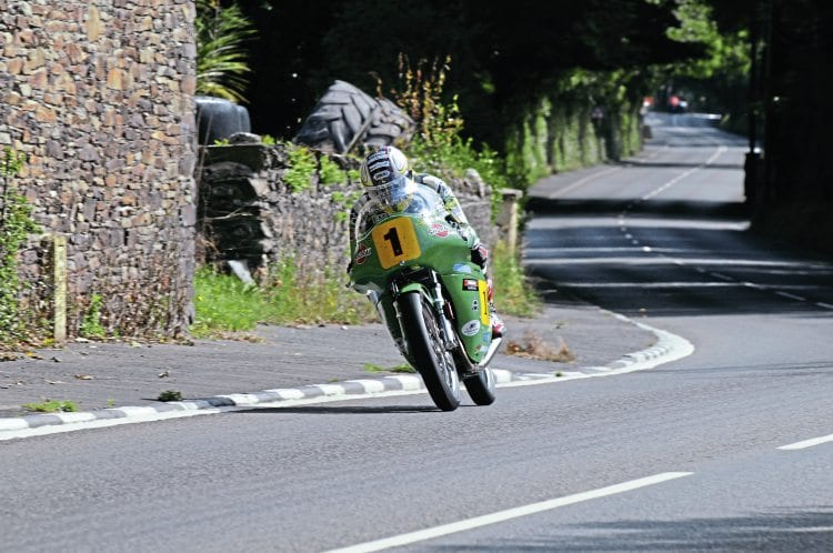 John McGuinness finally got the Classic TT Senior win he so desired, on Roger Winfield's Paton.