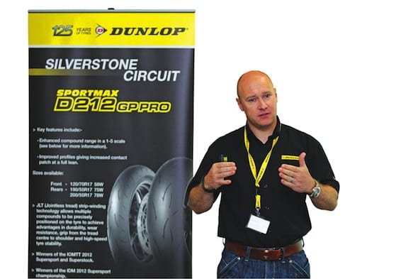 Dunlop D212 Tyre Launch Silverstone. 20th May 2013