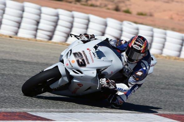 #23 Ryuichi Kiyonari Bennetts Suzuki MCE British Superbikes