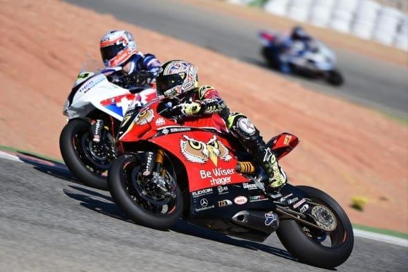#67 Shane Shakey Byrne Be Wiser Ducati MCE British Superbikes