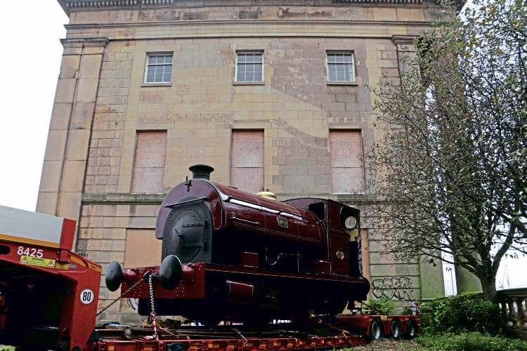 Peckett 0-4-0ST No. 1 becomes the first engine in steam at Curzon Street station in half a century. MOVERIGHT INTERNATIONAL