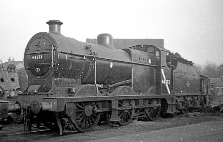 Midland 4F No. 44373 became a Crewe Works shunter in the dying years of BR steam. PHILIP ALEXANDER