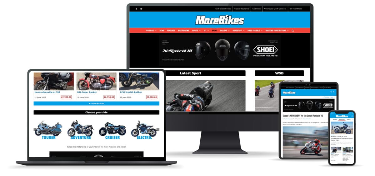 MoreBikes devices
