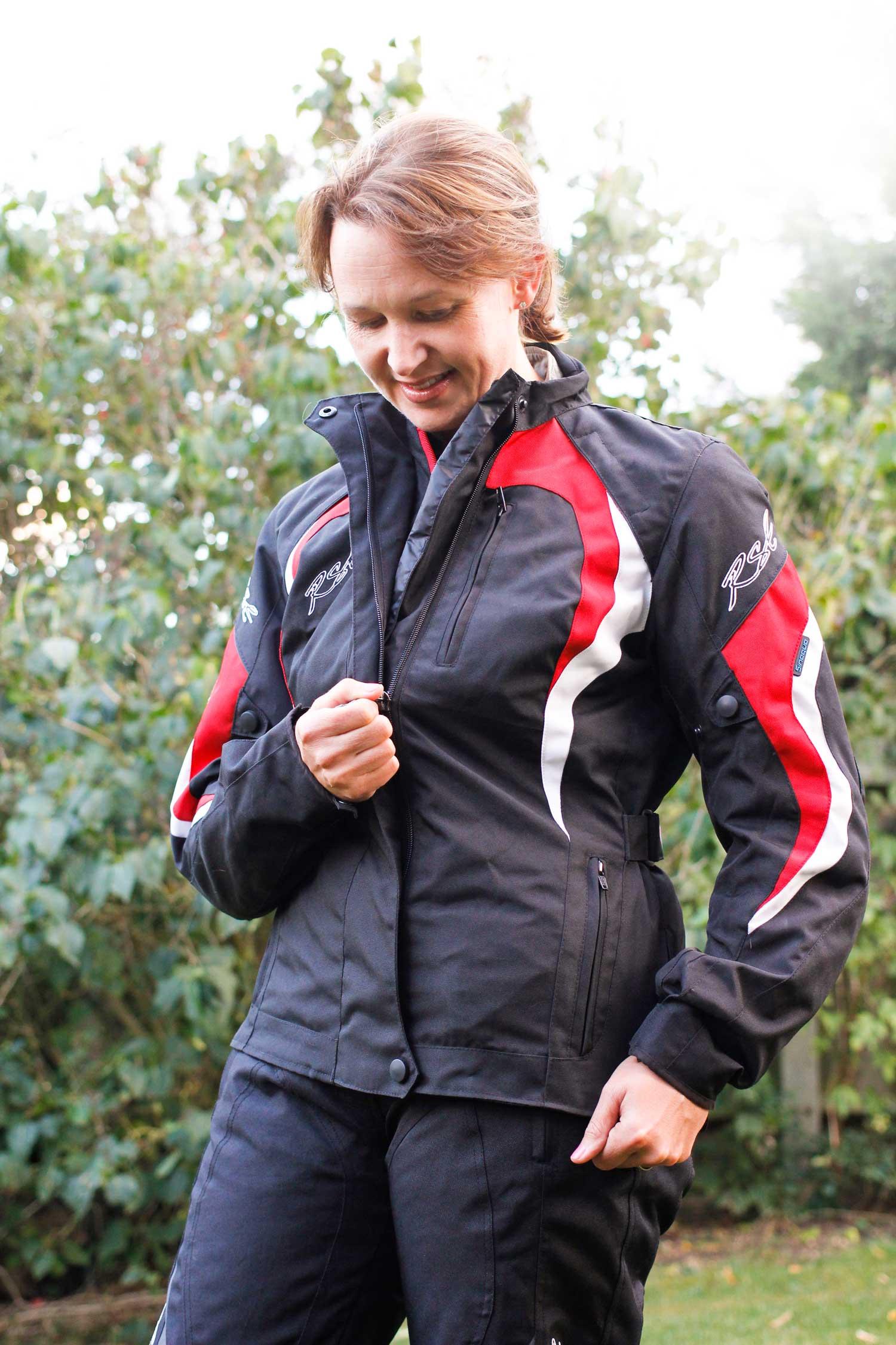 ARMR TSUMA textile motorcycle jacket | MoreBikes