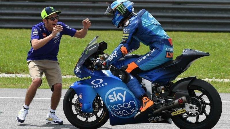 Motogp Luca Marini Rossi S Brother Valentino Won T Retire Soon He S Got Years Left Yet Morebikes