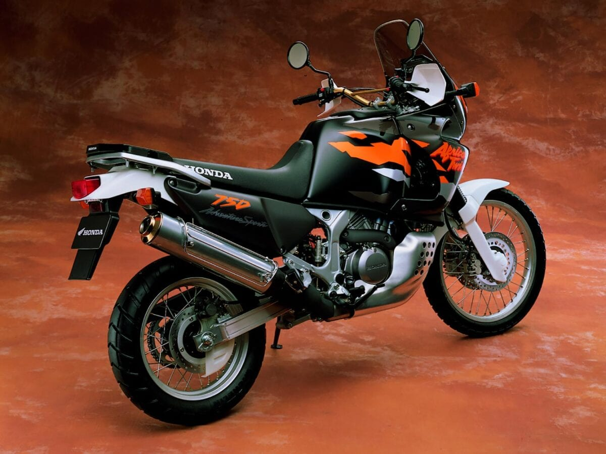 1996's version of the Africa Twin went basically unchanged until its deletion in 2003.
