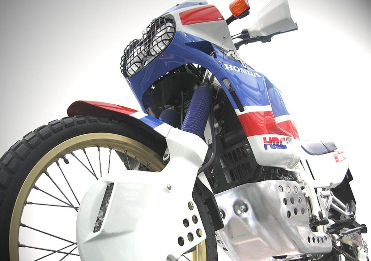 Touches like the headlight grill didn't survive when the Africa Twin ceased being produced by HRC.