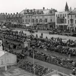 ACU National Rally, 1954 on the promenade at Rhyl in North Wales.