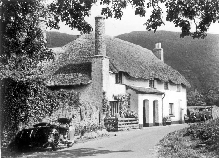 Away from the main roads is Bossington, a beautiful village in the Vale of Porlock.