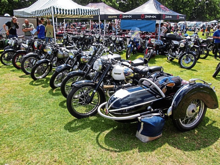 The Panther Owners' Club put on a sensational display of these rugged and well-remembered Yorkshire-built machines.