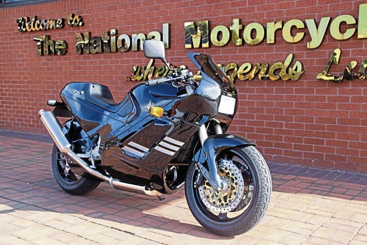 The winning raffle ticket for this fabulous 1990 Norton Rotary F1, worth over £22,000, will be drawn during the afternoon of the National Motorcycle Museum's free open day.