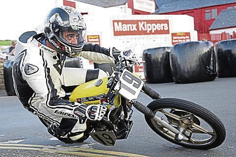 At the TT Mad Sunday Peel Kipper Races, Ross takes the 'Flyer' to its limit – and it didn't snap!