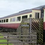 Mk.3a RFM No. 10218 has been converted into holiday accommodation at the former Hawsker station, just south of Whitby on the closed route to Scarborough, where it is pictured on July 15. David Russell