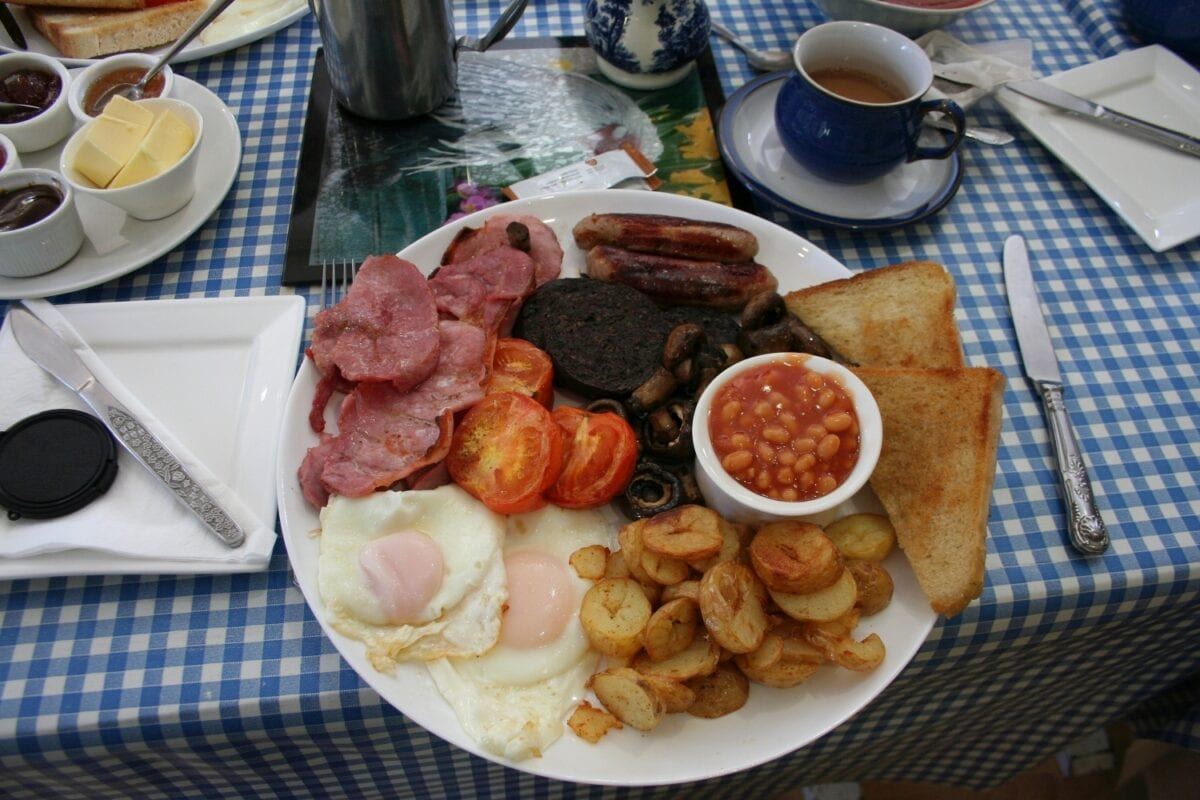 There are breakfasts... and there's this
