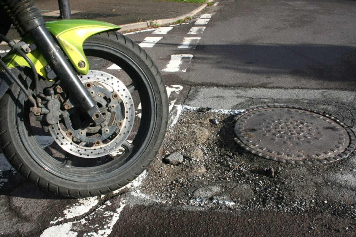Pothole problems? Call your local Council