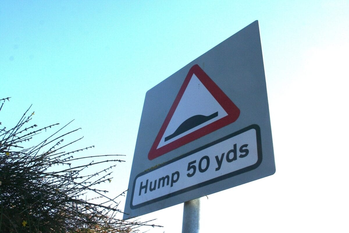 Humps should be signed
