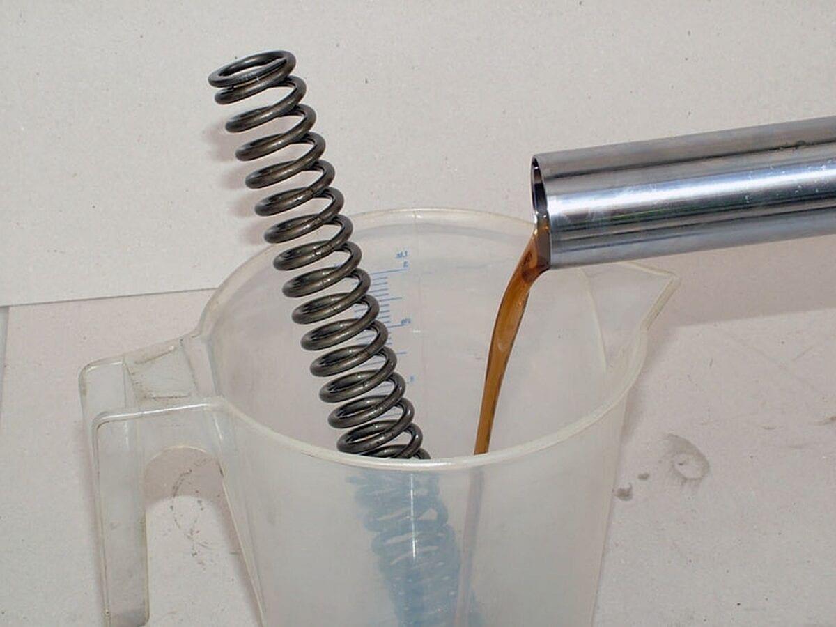 Fork oil change