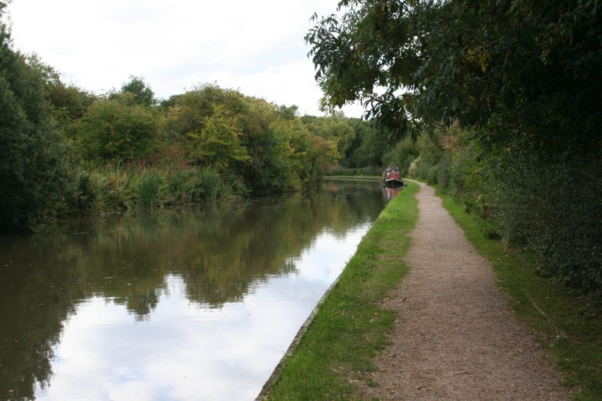 Birmingham claims more canals than Venice – this one's at Fazeley