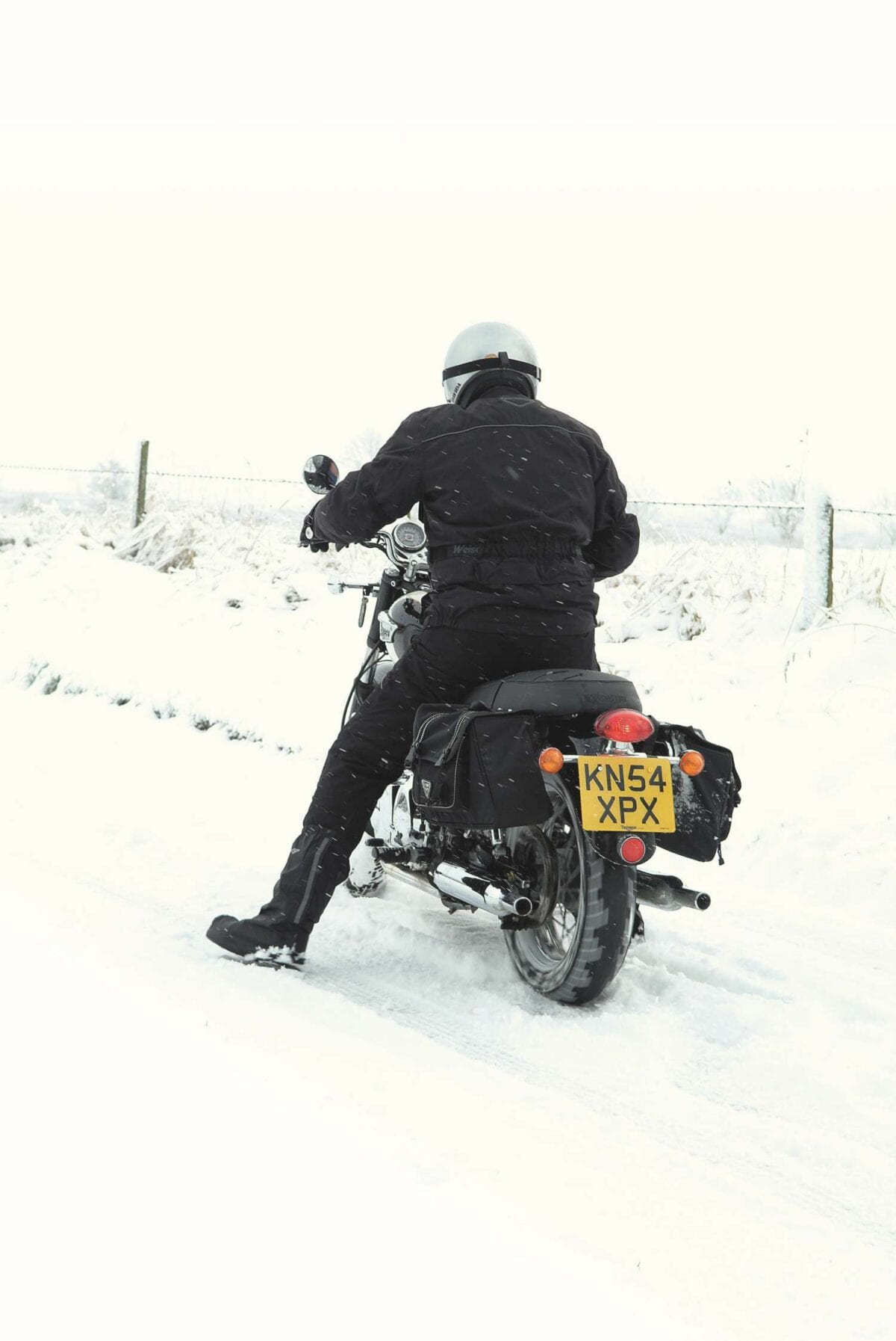 riding in snow